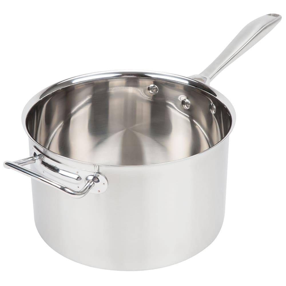 "Vollrath 47743 7-qt Stainless Sauce Pot - 9.375"" x 5.75"""