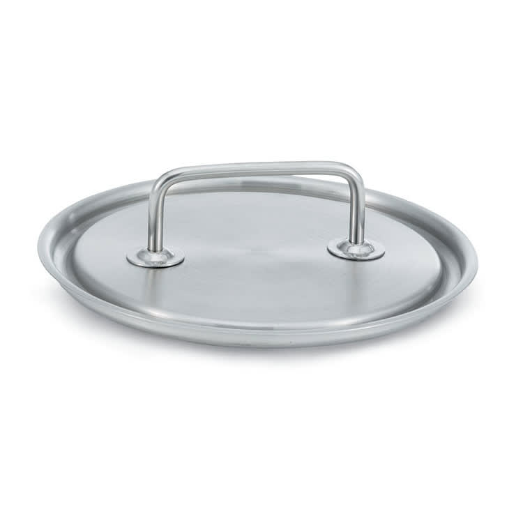 """Vollrath 47772 8.7"""" Saucepan Cover - 18/8 Stainless"""