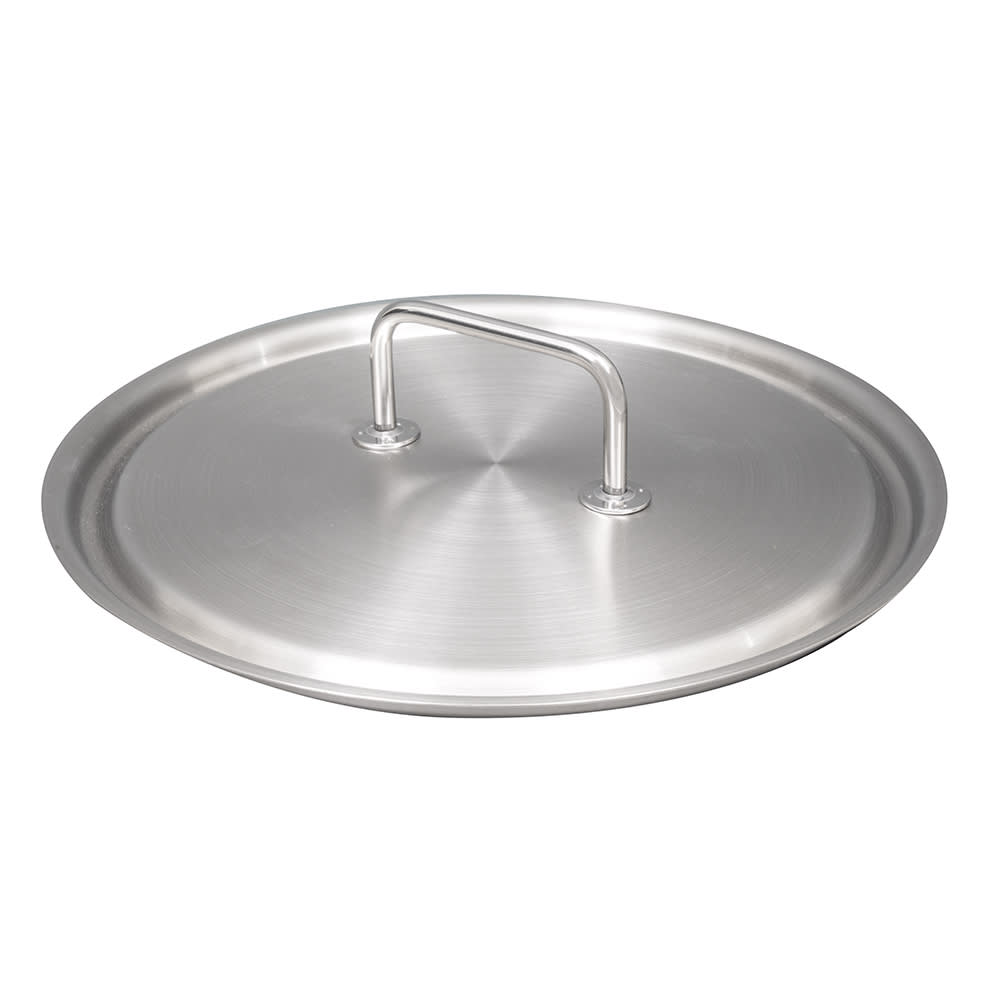 "Vollrath 47777 14.2"" Saucepan Cover for 47732 - 18/8 Stainless"