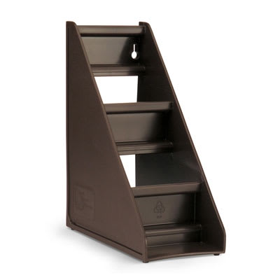 Vollrath 4830-01 2-Tier Self-Serve System Stand - Brown