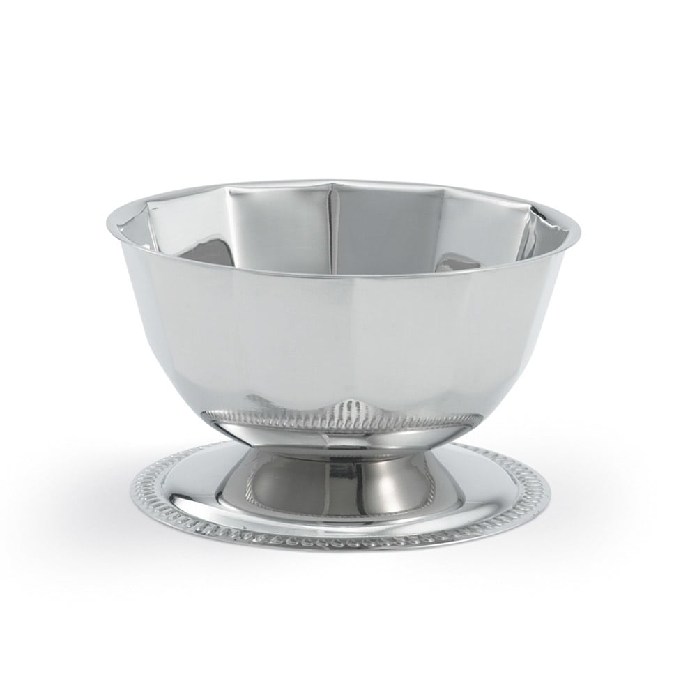 Vollrath 48301 10-oz Bowl - (47633) and (47641) Silverplated