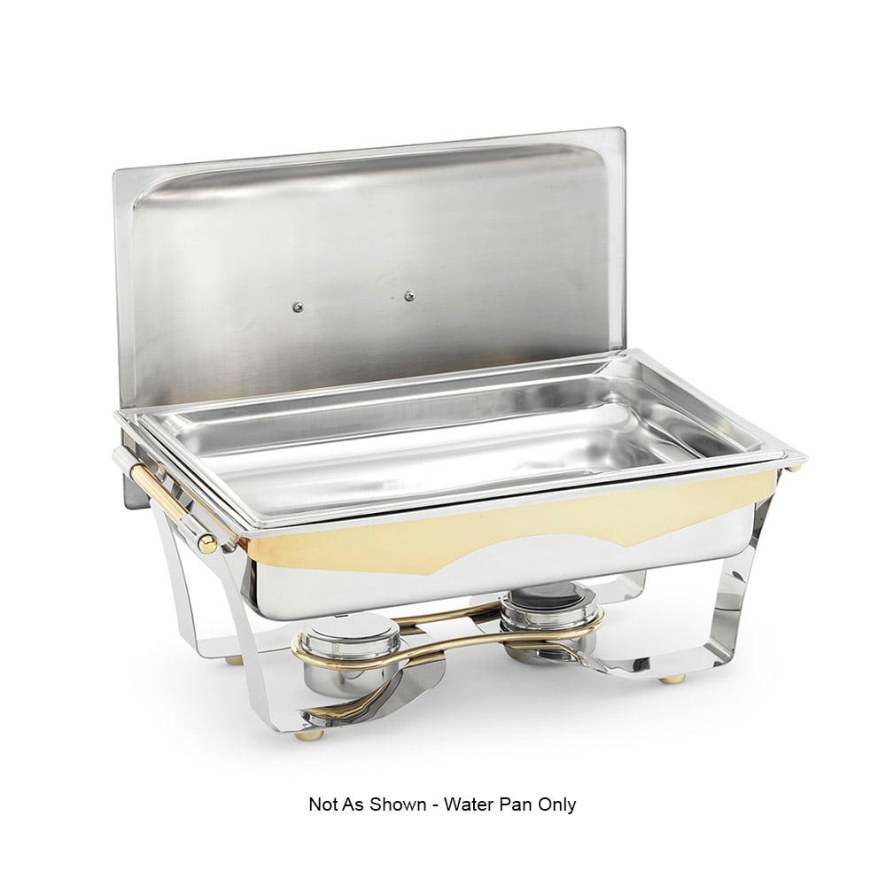 Vollrath 49331 9-qt Rectangular Full-Size Chafer Water Pan - Stainless