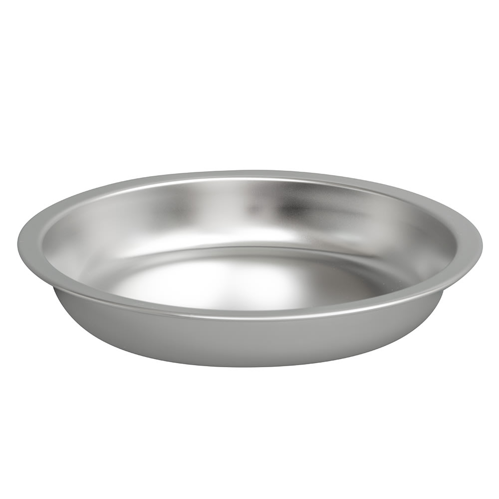 Vollrath 49333 4.2 qt Round Chafer Food Pan Only - Stainless