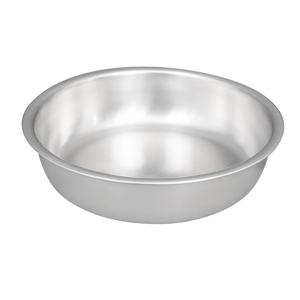Vollrath 49335 4.2 qt Round Chafer Water Pan - Stainless