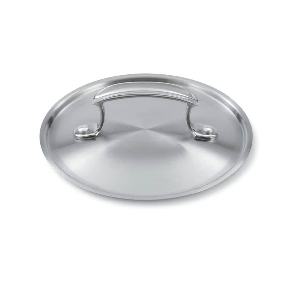 "Vollrath 49415 7"" Low Dome Cover - 3-Ply Construction"