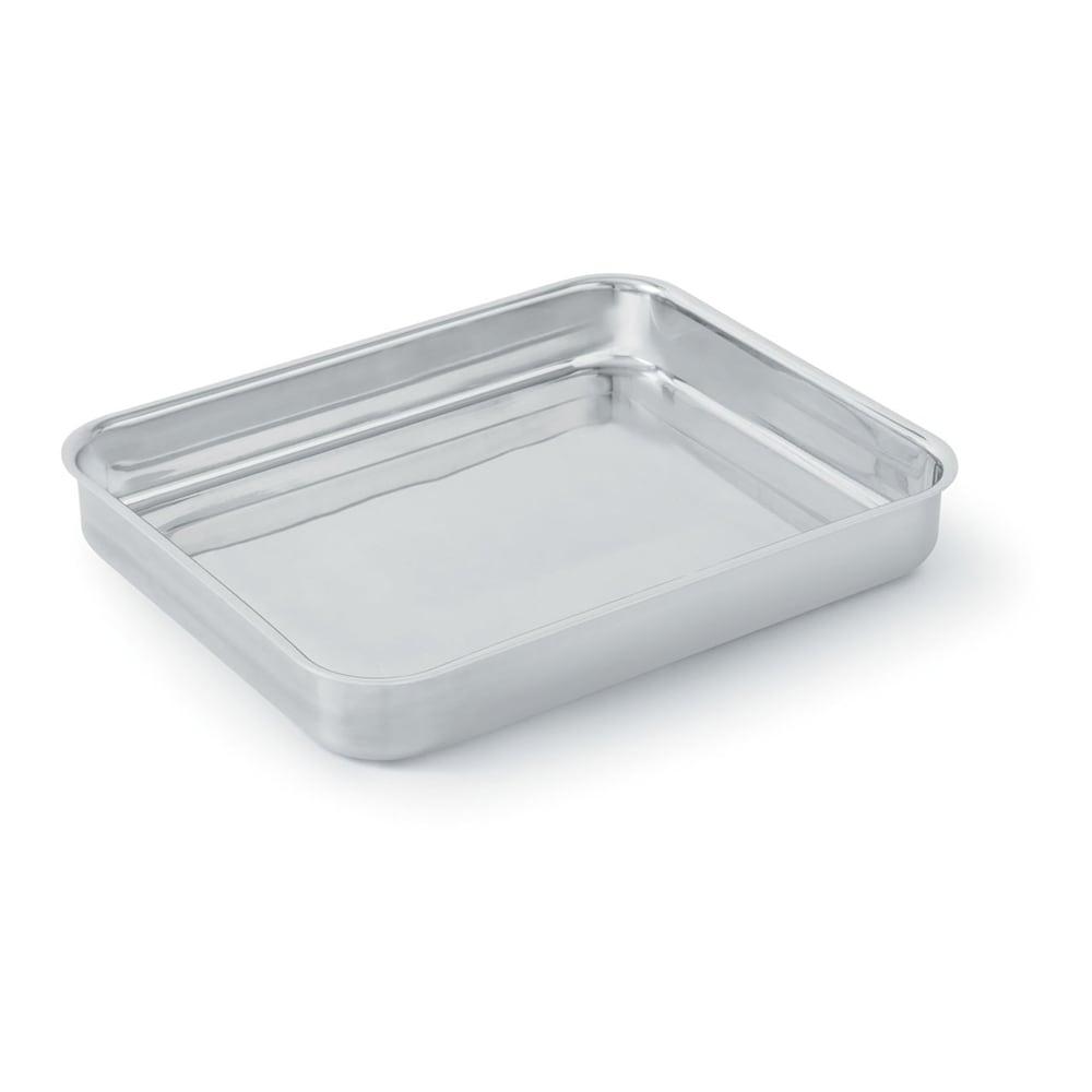 Vollrath 49432 4.6 qt Large Food Pan - Aluminum Bottom, 18 ga Stainless