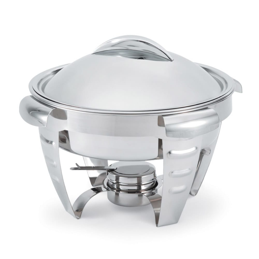 Vollrath 49522 Round Chafer w/ Lift-off Lid & Chafing Fuel Heat