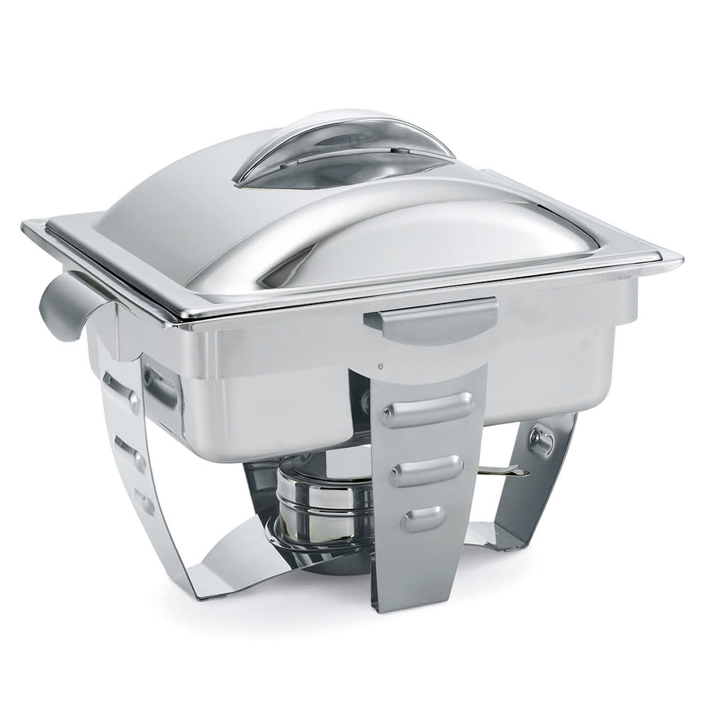 Vollrath 49529 Half Size Chafer w/ Lift-off Lid & Chafing Fuel Heat