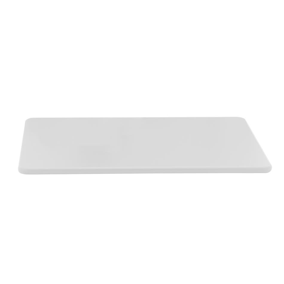"Vollrath 5200000 Poly Cutting Board - 12x18x1/2"" White"
