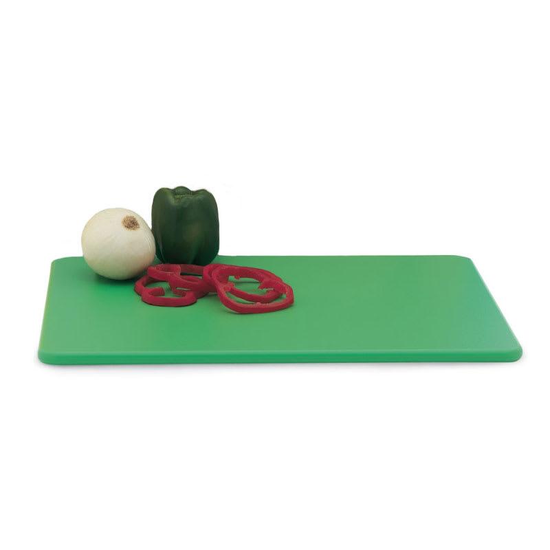 """Vollrath 5200070 Poly Cutting Board - 12x18x1/2"""" Green"""