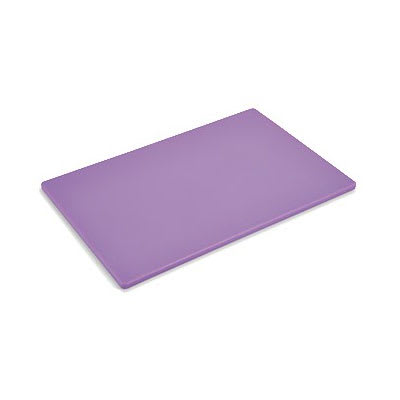 "Vollrath 5200080 Poly Cutting Board - 12"" x 18"" x .5"", Purple"