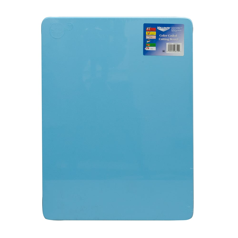 "Vollrath 5200230 Poly Cutting Board - 15x20x1/2"" Blue"