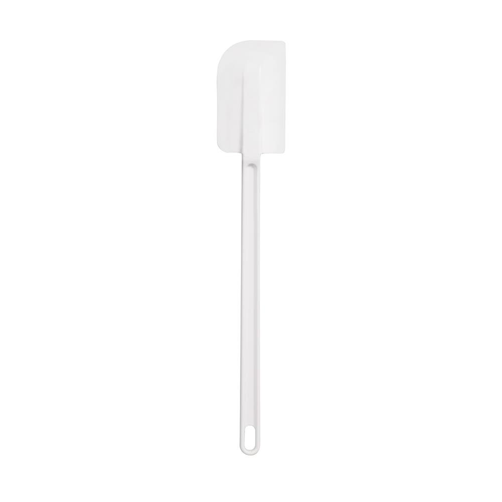 """Vollrath 52016 16.63"""" Scraper Spatula - Plastic, White"""