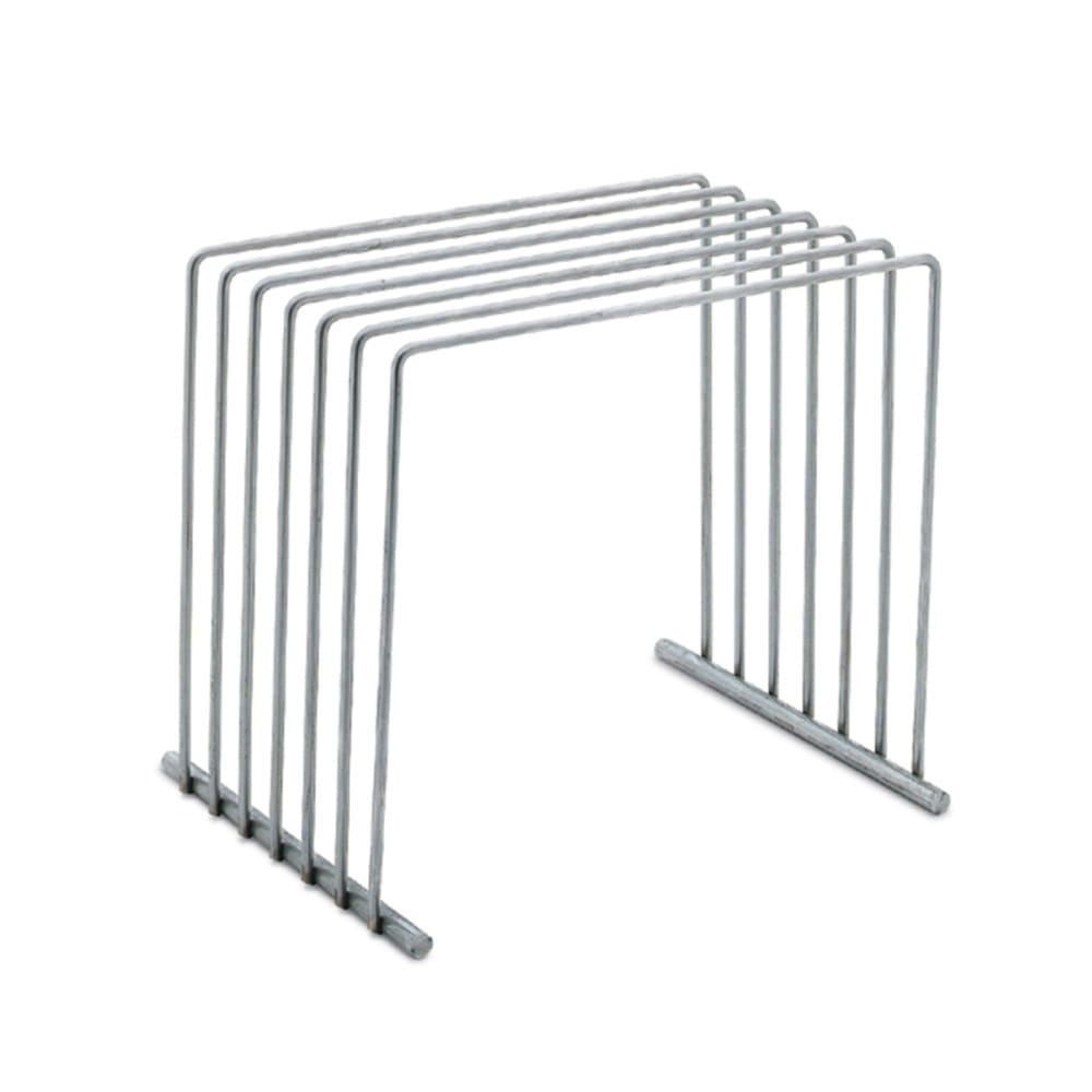 """Vollrath 52100 Cutting Board Rack - 8x10x9"""" Stainless"""