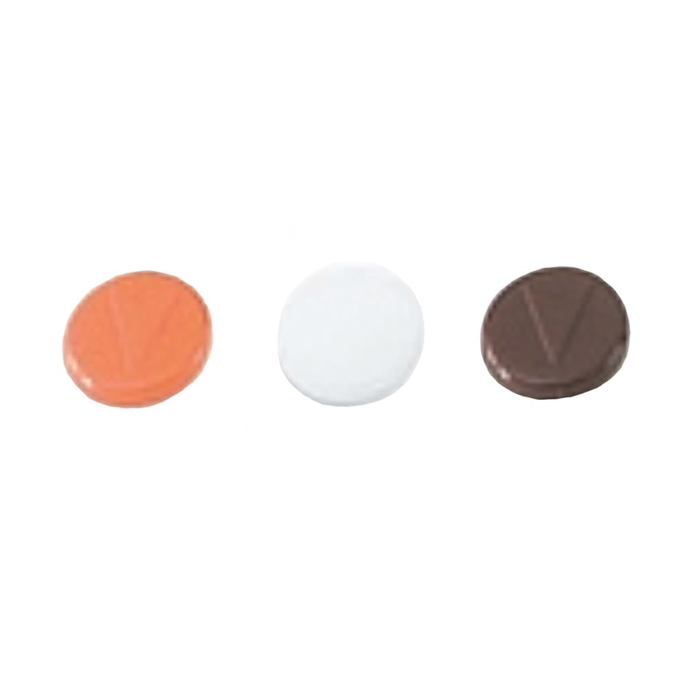 Vollrath 52197 Replacement Colored Tab Set - For 20-oz Beverage Server