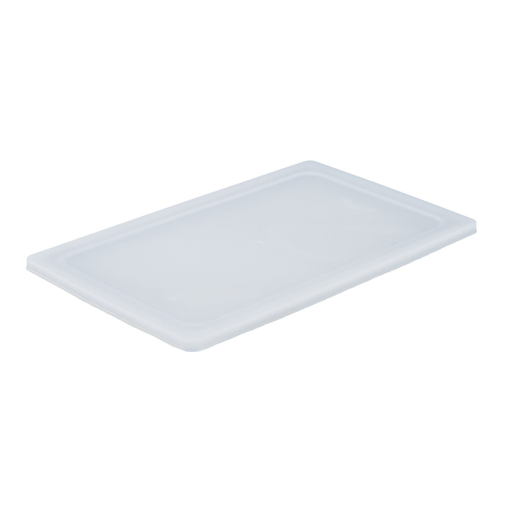 Vollrath 52435 Flexible Food Pan Lid - 1/9 Size, 7x4-7/16