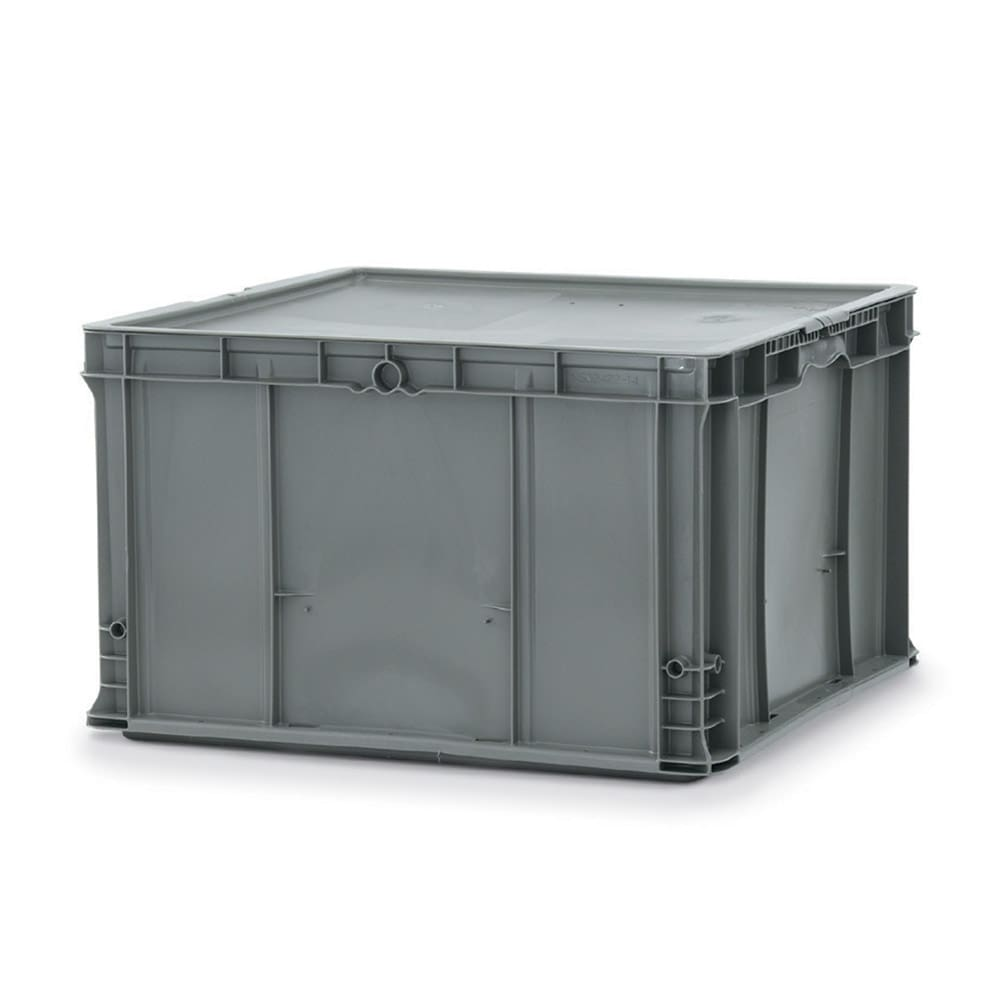"Vollrath 52646 Tote 'N Store Chafer Box - 21 3/4x20 7/8x13"" Gray"