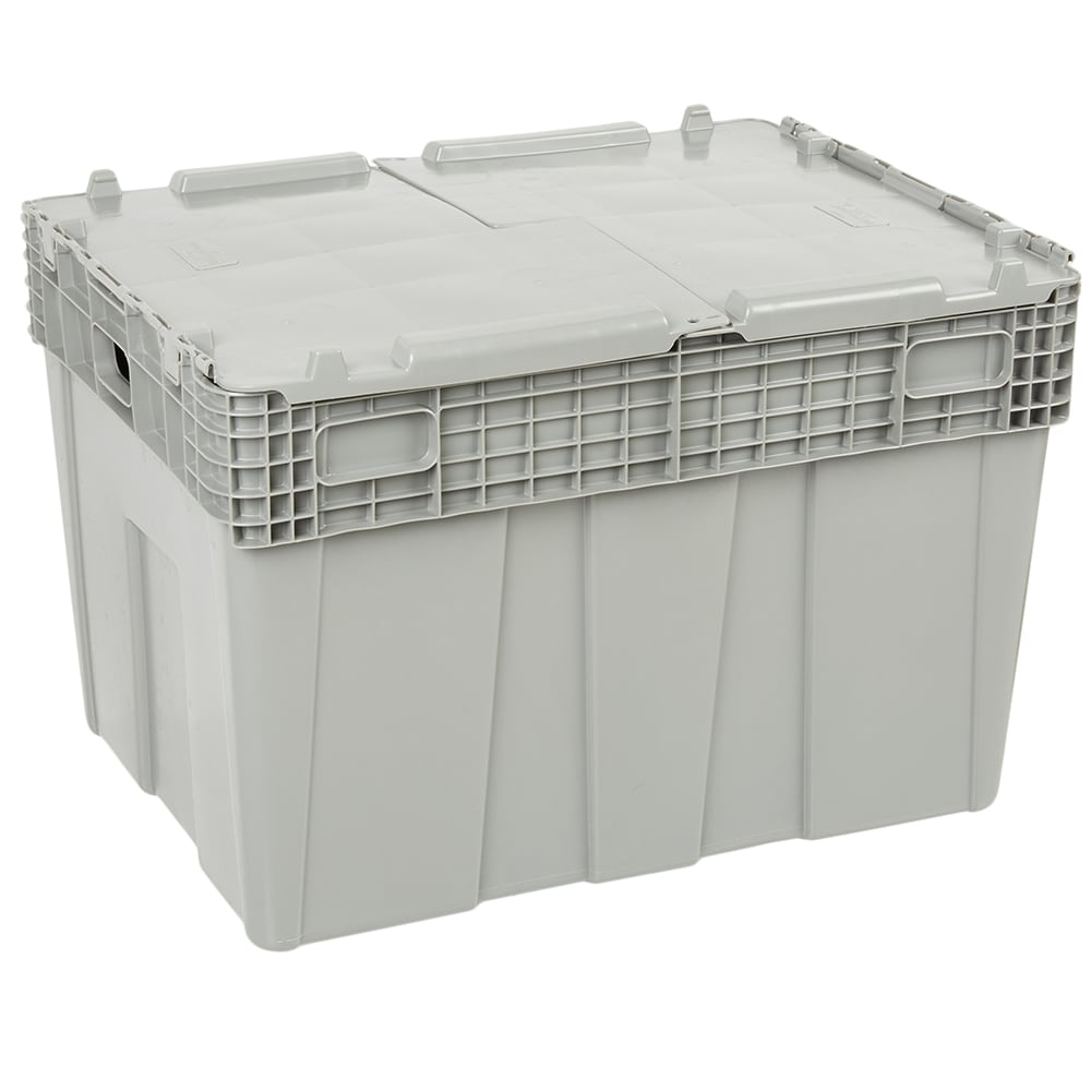 "Vollrath 52647 Tote 'N Store Chafer Box - 28 3/4x20 3/4x18 3/4"" Gray"