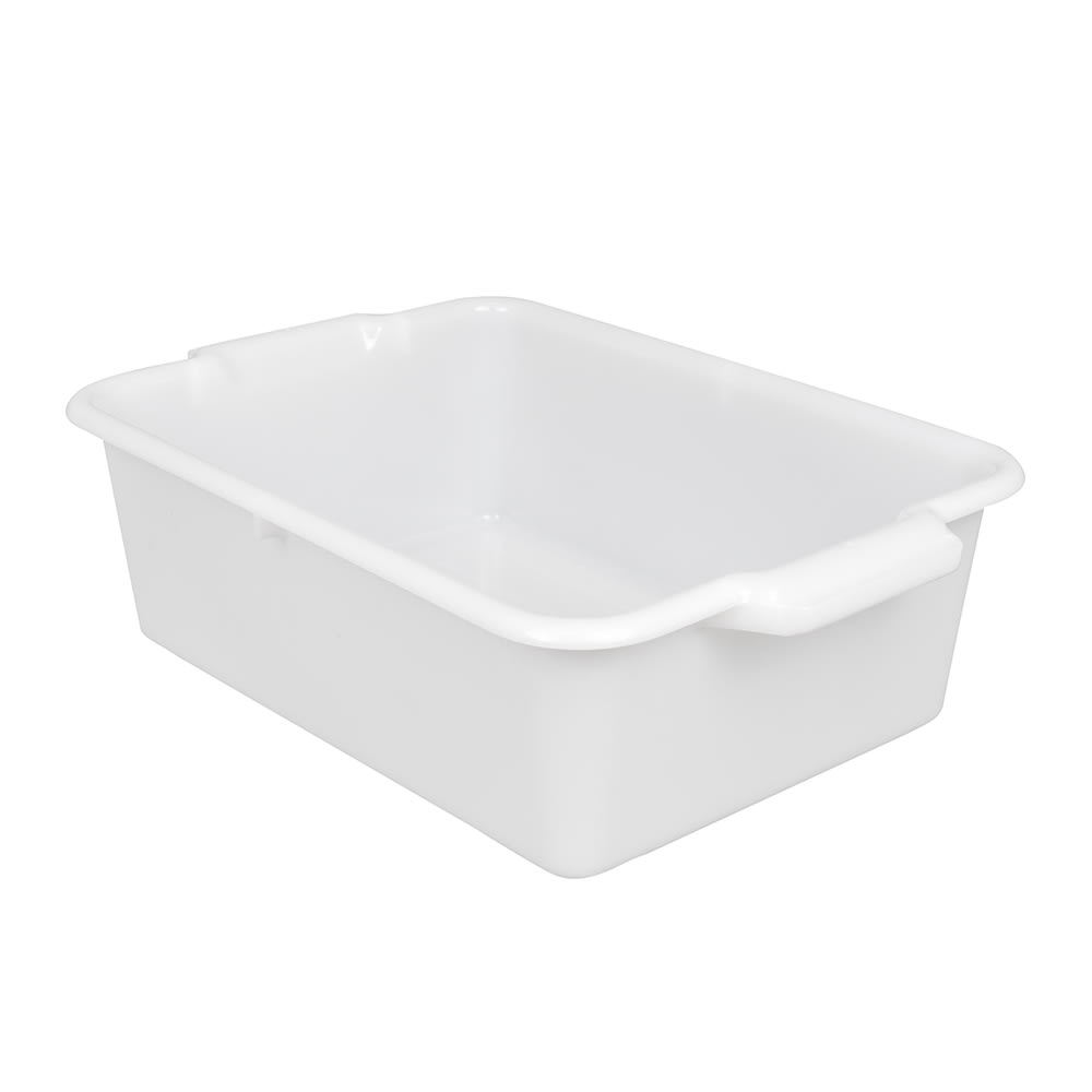 "Vollrath 52657 Signature Bus Box - 20"" x 15"" x 7"", Natural"