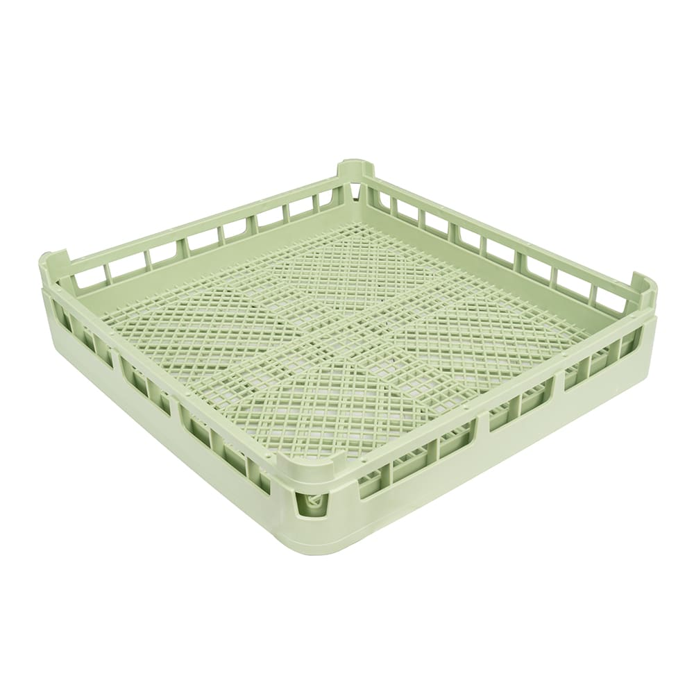 "Vollrath 52671 Dishwasher Flatware Rack - Full-Size, 19-3/4x19-3/4"" Green"
