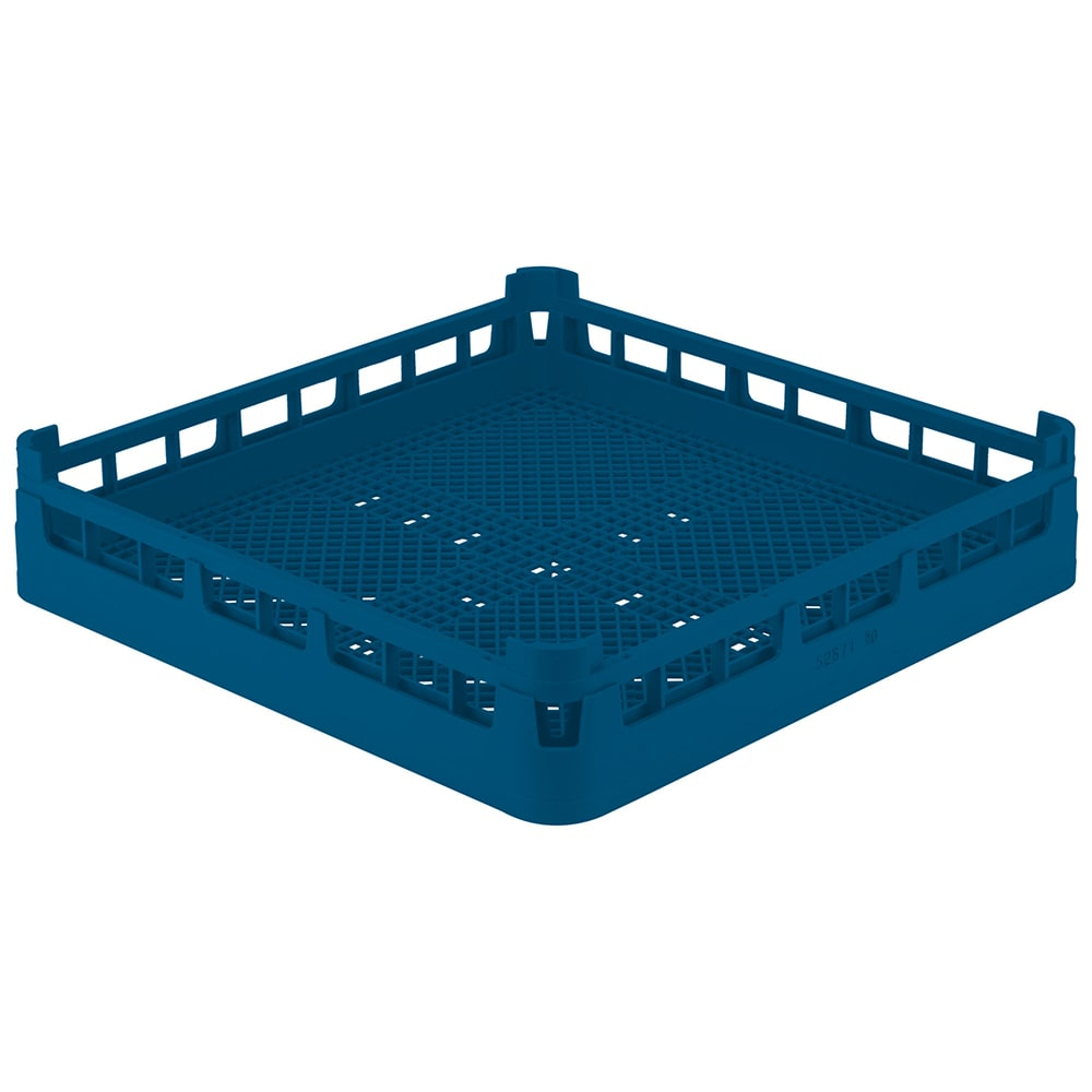 "Vollrath 52671 Dishwasher Flatware Rack - Full-Size, 19 3/4x19 3/4"" Royal Blue"
