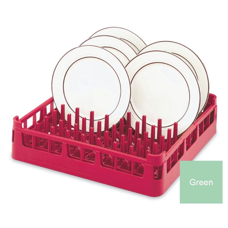 "Vollrath 52672 Dishwasher Plate Rack - Full-Size, 19-3/4x19-3/4"" Green"
