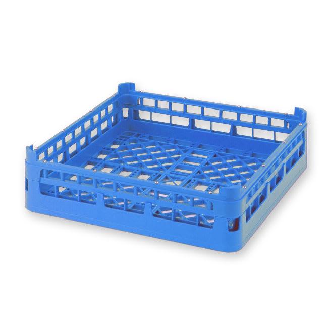 "Vollrath 52680 Open Dishwasher Rack - Medium, Full-Size, 19 3/4x19 3/4"" Royal Blue"