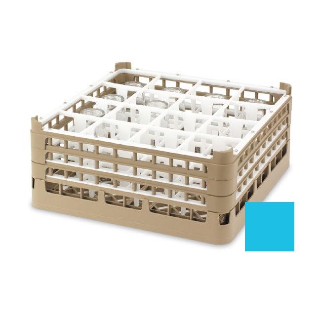 "Vollrath 52724 Dishwasher Rack - 49 Compartment, X-Tall, Full-Size, 19 3/4x19 3/4"" Blue"
