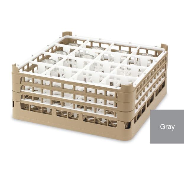 "Vollrath 52779 Dishwasher Rack - 36 Compartment, Medium Plus, Full-Size, 19 3/4x19 3/4"" Gray"