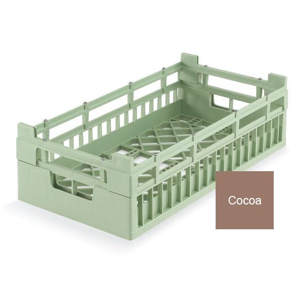 Vollrath 52801 Open Dishwasher Rack - Medium, Half-Size, Cocoa