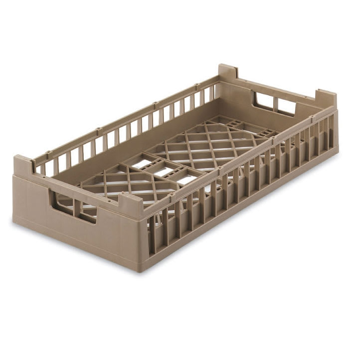 Vollrath 52802 2 Open Dishwasher Rack - Tall, Half-Size, Cocoa