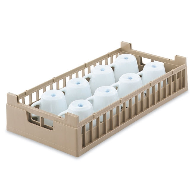 Vollrath 52805 Dishwasher Rack 8 Cup - Half-Size, Cocoa