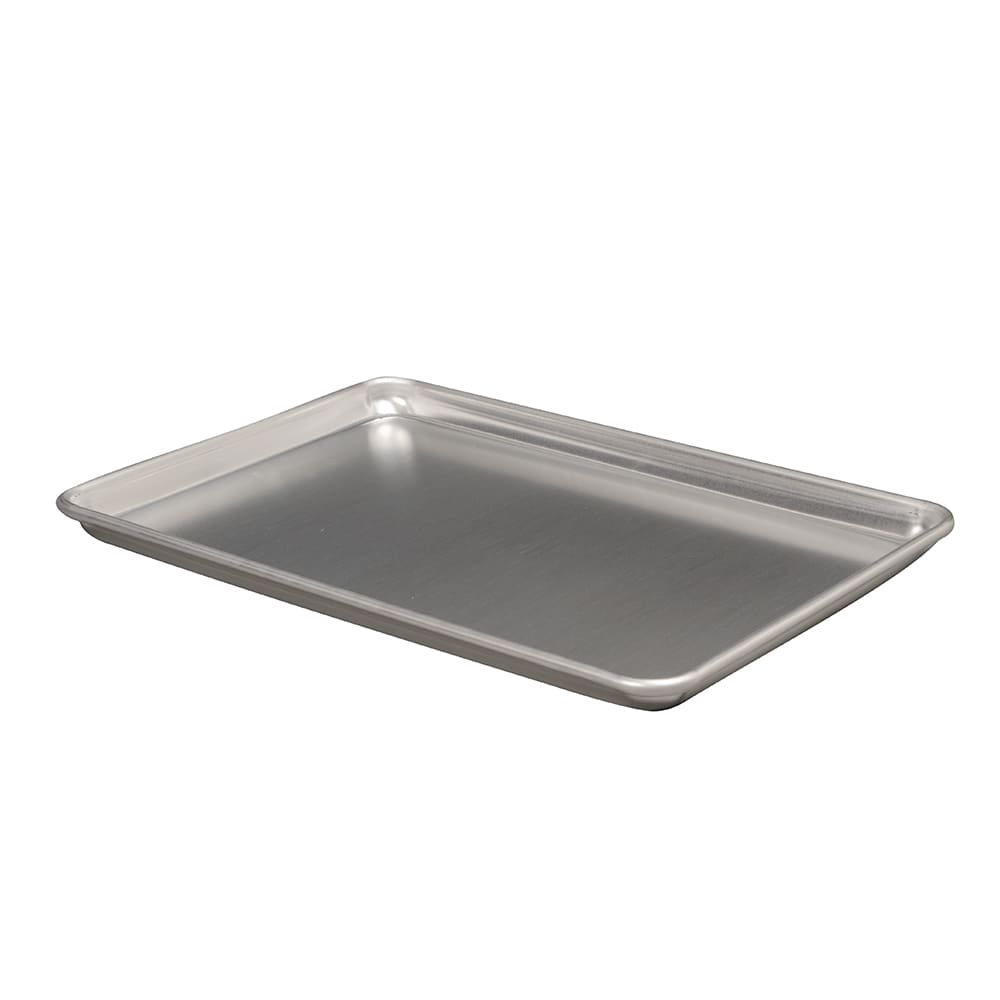 "Vollrath 5303 1/2 Half Size Bun / Sheet Pan - 18"" x 13"" x 1"", 18 gauge Aluminum, Natural Finish"
