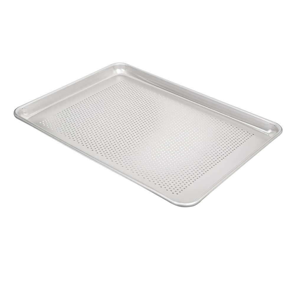 "Vollrath 5303P Half-Size Perforated Sheet Pan - 18x13"" 18-ga Aluminum"