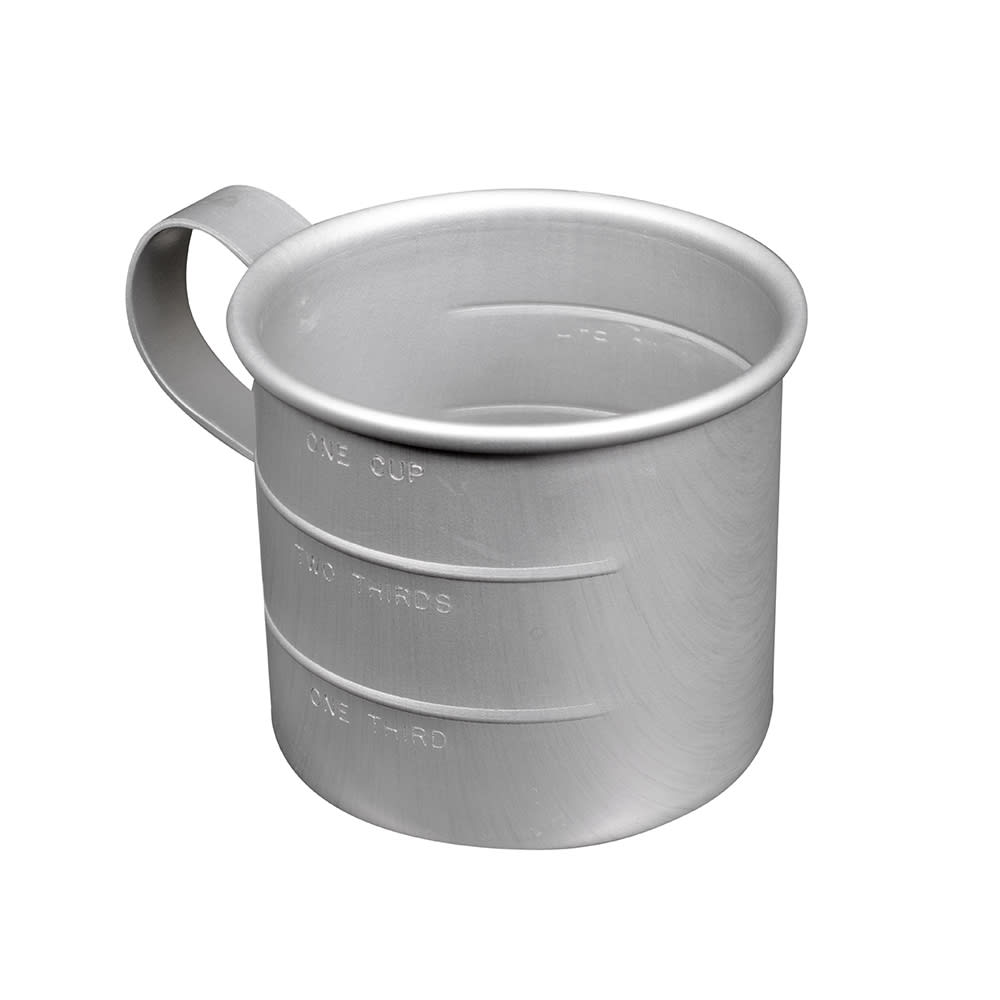 Vollrath 5350 1 Cup Measuring Cup - Aluminum