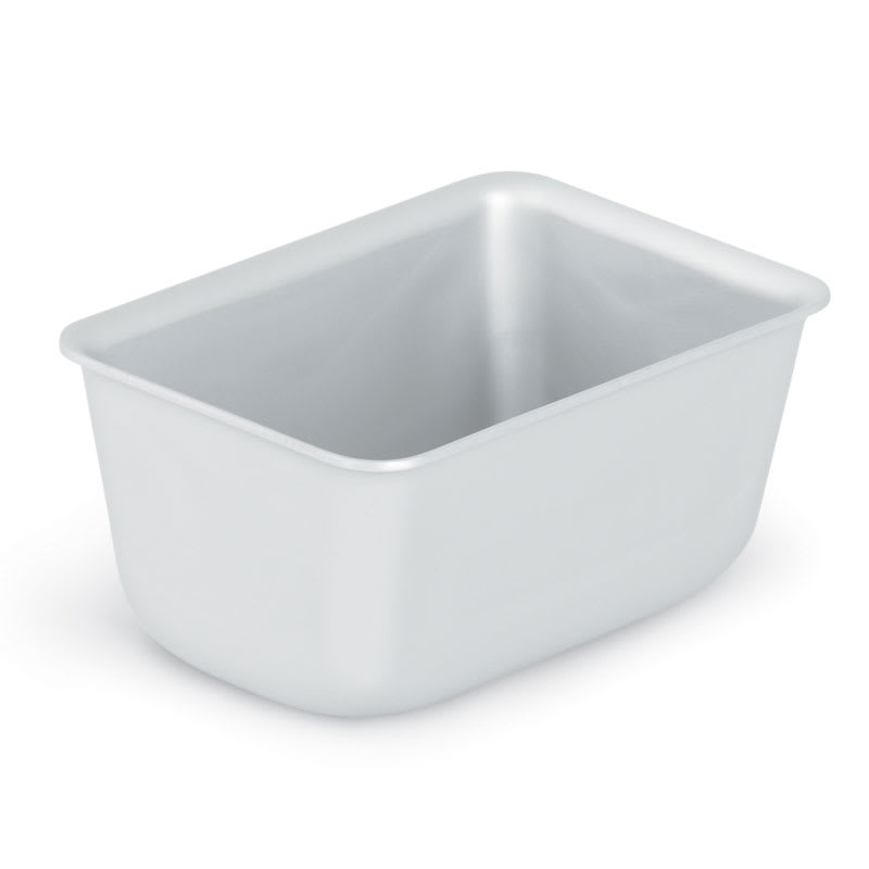 "Vollrath 5431 1 lb Loaf Pan - 3 3/8x5x2 1/2"" Aluminum"