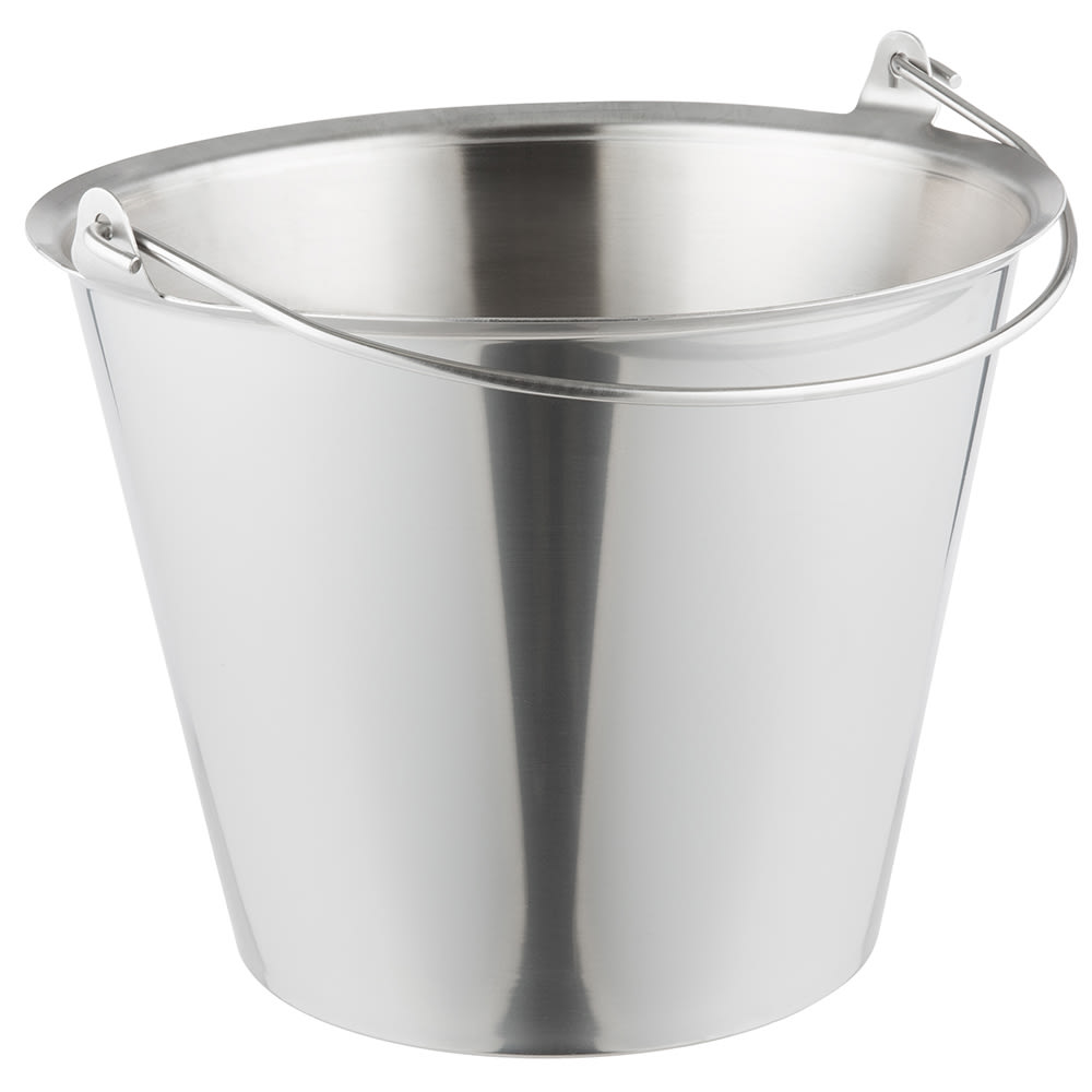 Vollrath 58200 23 qt Tapered Pail - Stainless