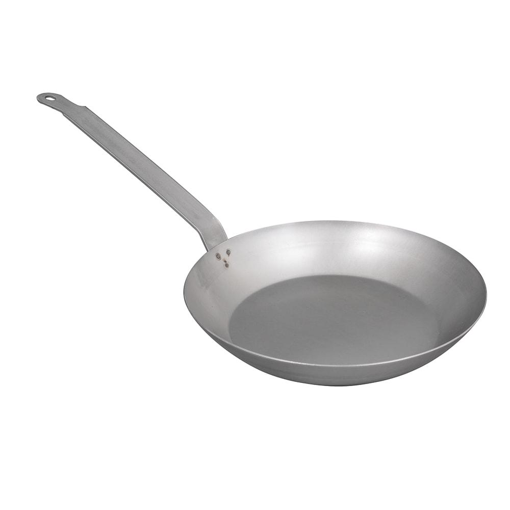 "Vollrath 58920 11"" Carbon Steel Frying Pan w/ Solid Metal Handle"