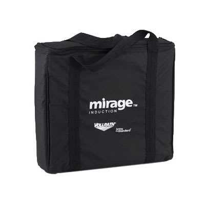 Vollrath 59145 Induction Range Storage Bag - Padded Nylon, Black