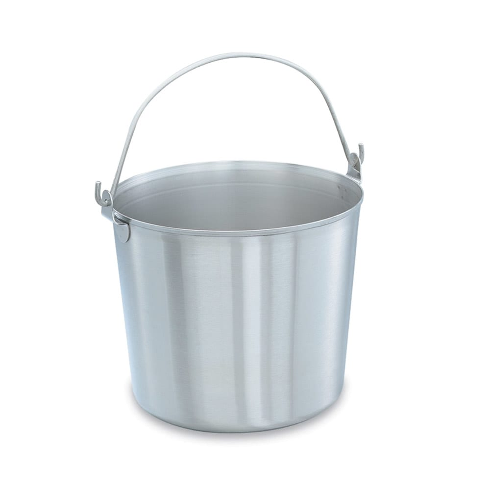 Vollrath 59150 16 qt Utility Pail - Stainless