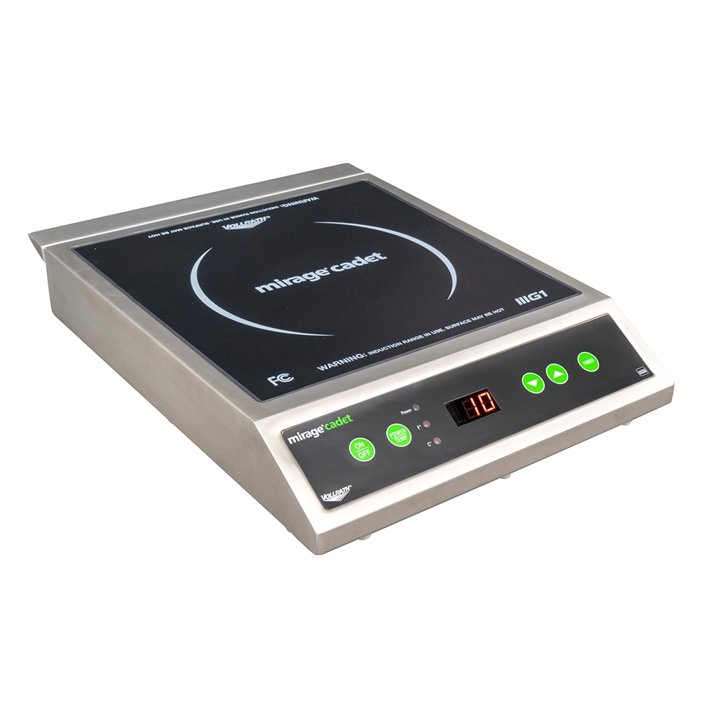 Vollrath 59300 Countertop Commercial Induction Cooktop w/ (1) Burner, 120v