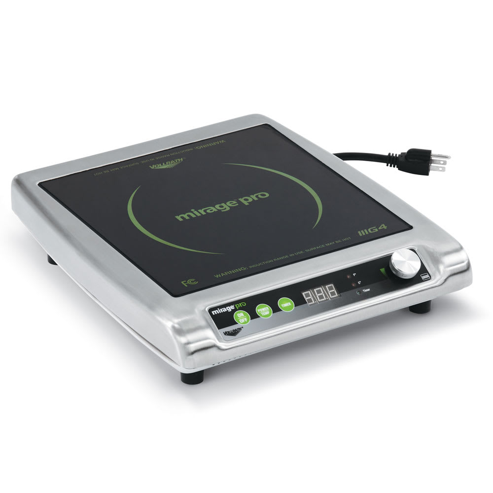 Vollrath Countertop Commercial Induction Cooktop w/ (1) Element, 120v - 59500P