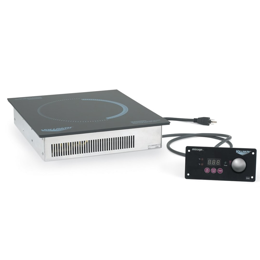 Vollrath 5950170 Drop-In Commercial Induction Cooktop w/ (1) Burner, 120v