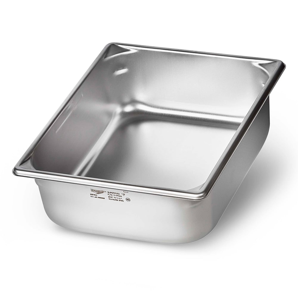 Vollrath 5IPH40 Half-Size Induction Steam Pan, Stainless