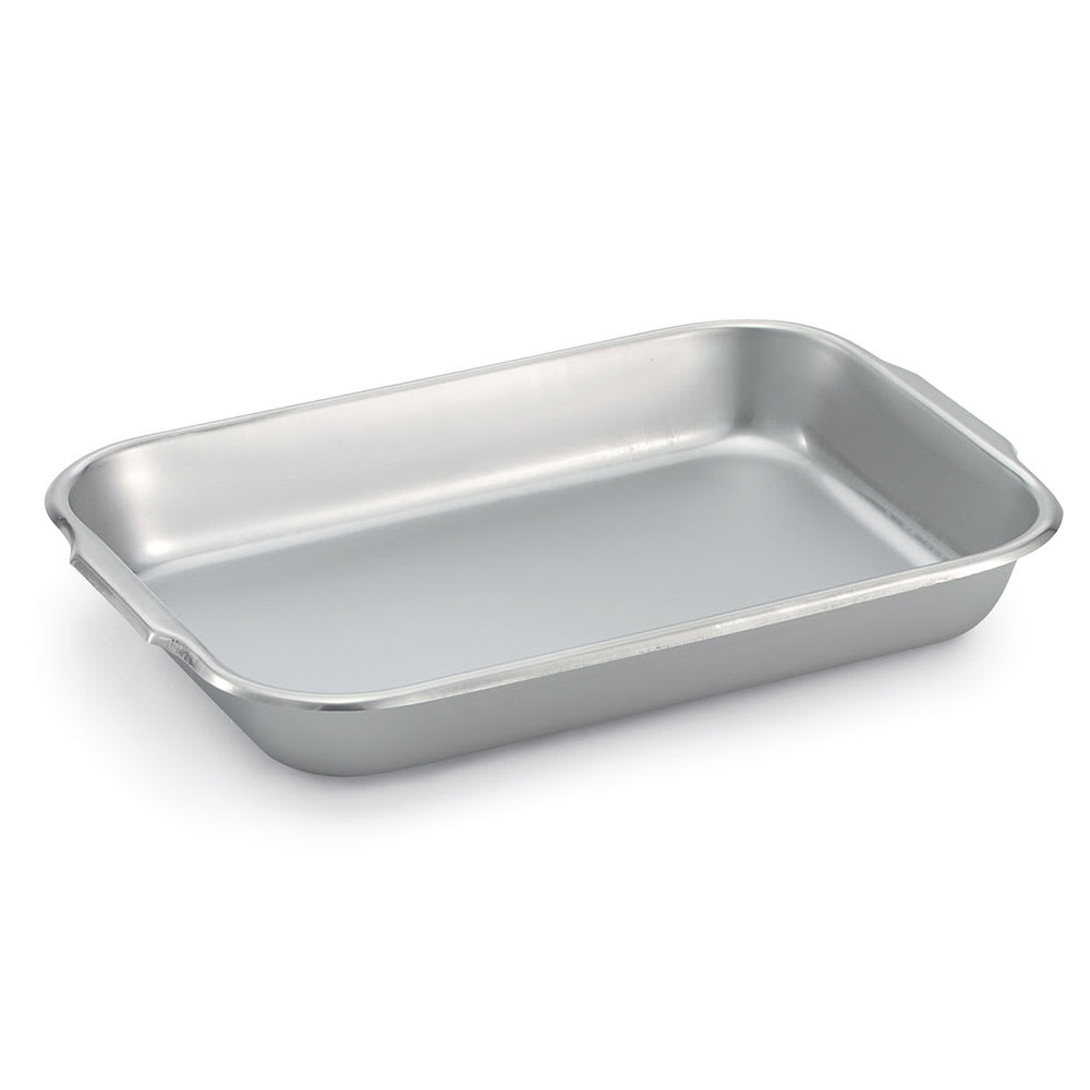 "Vollrath 61230 Baking/Roasting Pan - 14 7/8x10 1/4x2"" 22 ga Stainless"