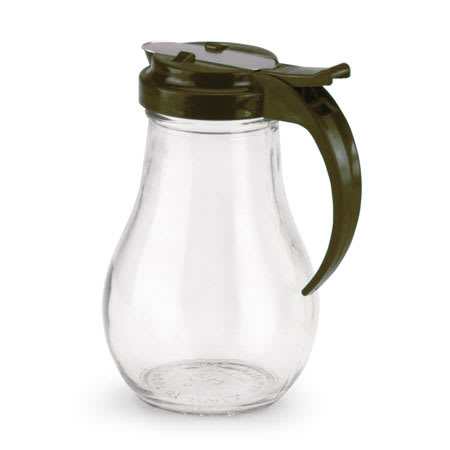 Vollrath 614-01 Glass Jar Server w/ Plastic Brown Top, 14 oz