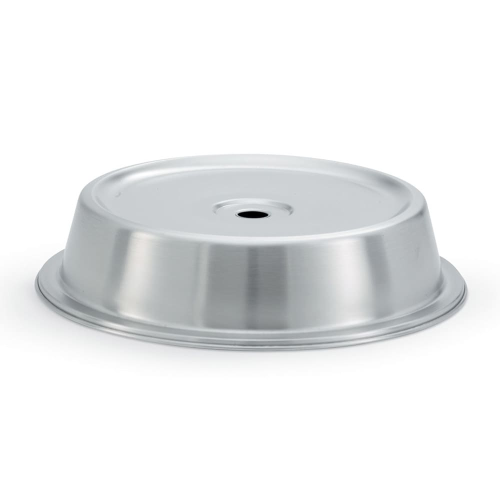 "Vollrath 62301 Plate Cover for 9 3/16""- 9 1/4""  Satin-Finish Stainless"