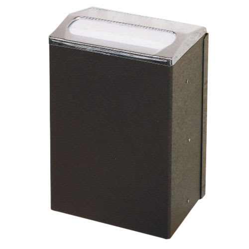 Vollrath 6512-88 Wall-Mount Napkin Dispenser - Black
