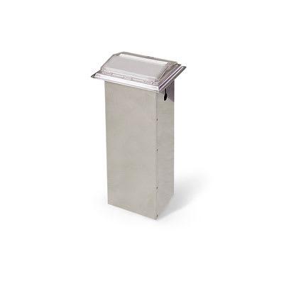 Vollrath 6520-28 In-Counter Napkin Dispenser - 500 Capacity, Chrome