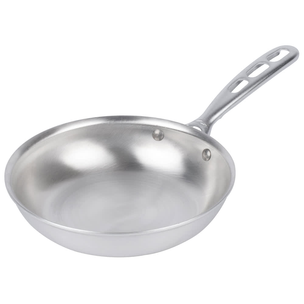 "Vollrath 67108 8"" Aluminum Frying Pan w/ Vented Metal Handle"